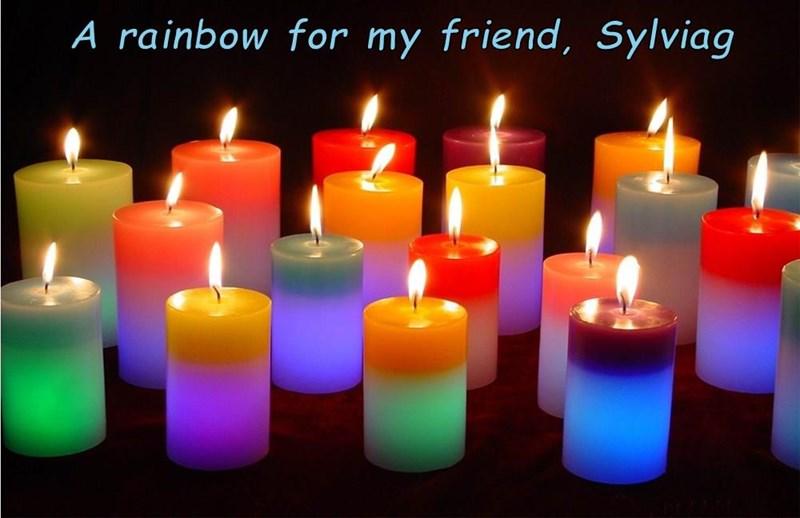 A rainbow for my friend, Sylviag