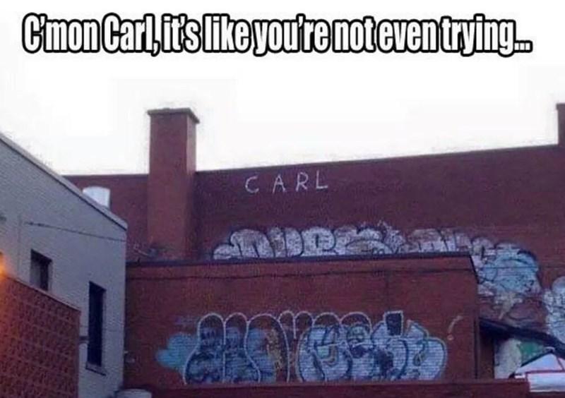 image graffiti fail Classic Carl