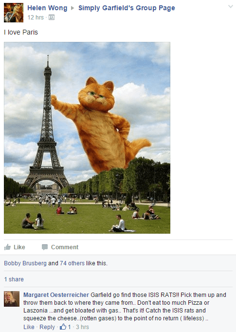 garfield failbook facebook isis - 8964791808