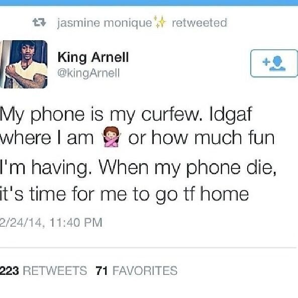 twitter,cell phone,curfew