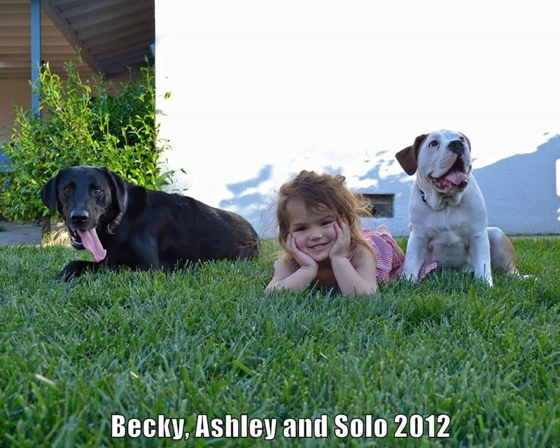 Becky, Ashley and Solo 2012