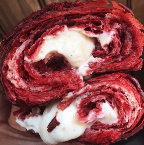 image trends food Frosting-Stuffed Croissants Are the New, Grossly Sweet Food Trend