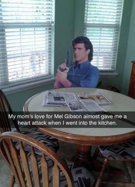 mel gibson,parenting,pranks