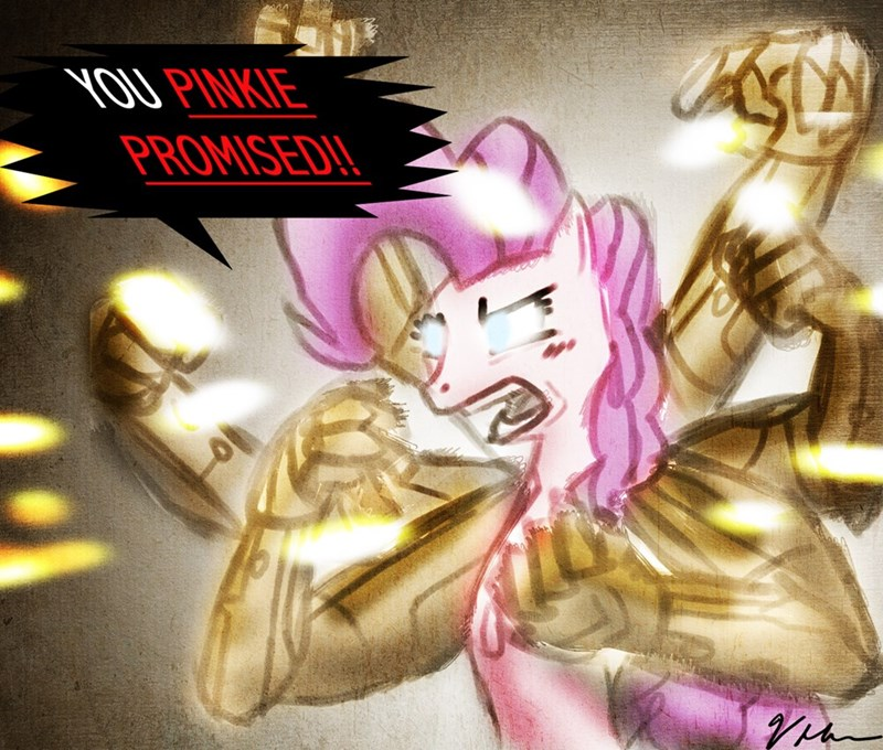 pinkie pie,asuras wrath,asura