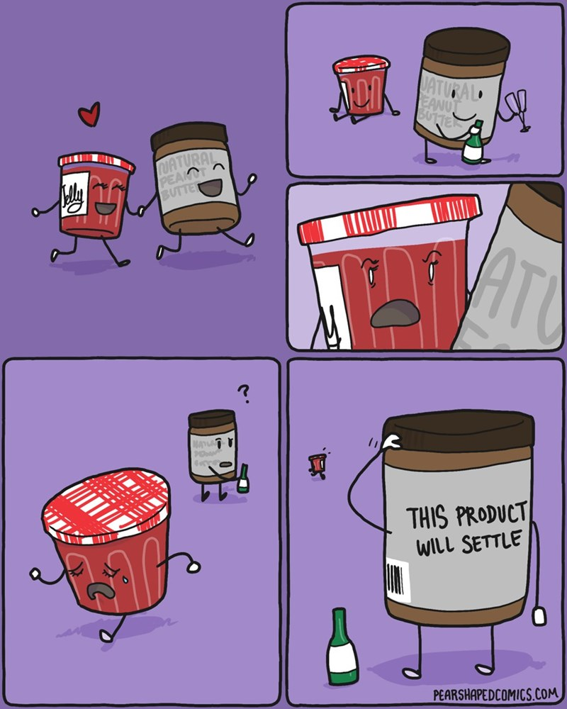 funny-web-comics-about-never-settling-peanut-butter-jelly
