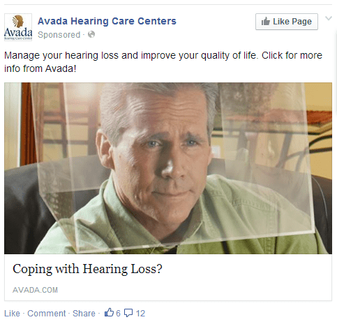 failbook hearing facebook hearing aid