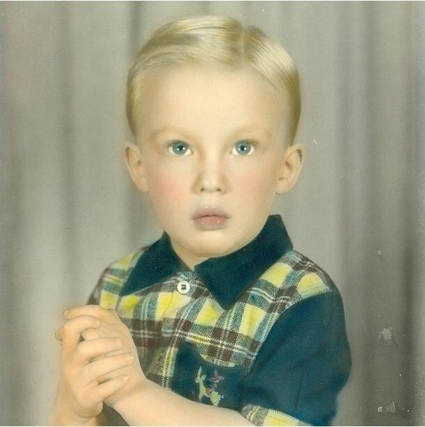 Donald Trump as an actual Child