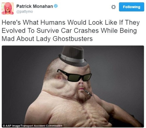 Ghostbusters,twitter,crash dummy