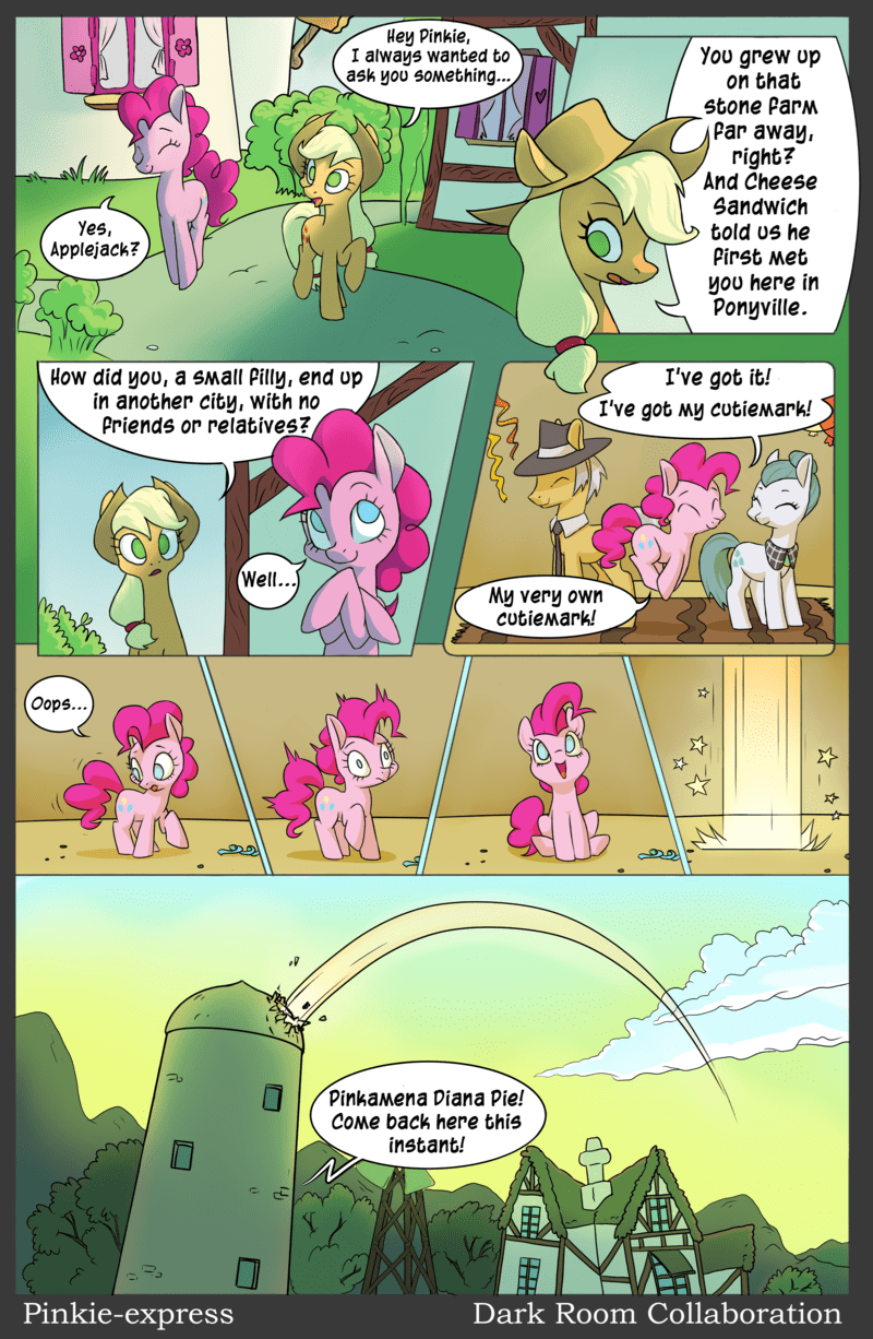 applejack cheese sandwich pinkie pride Igneous Rock pinkie pie Cloudy Quartz comic the cutie mark chronicles - 8965250048