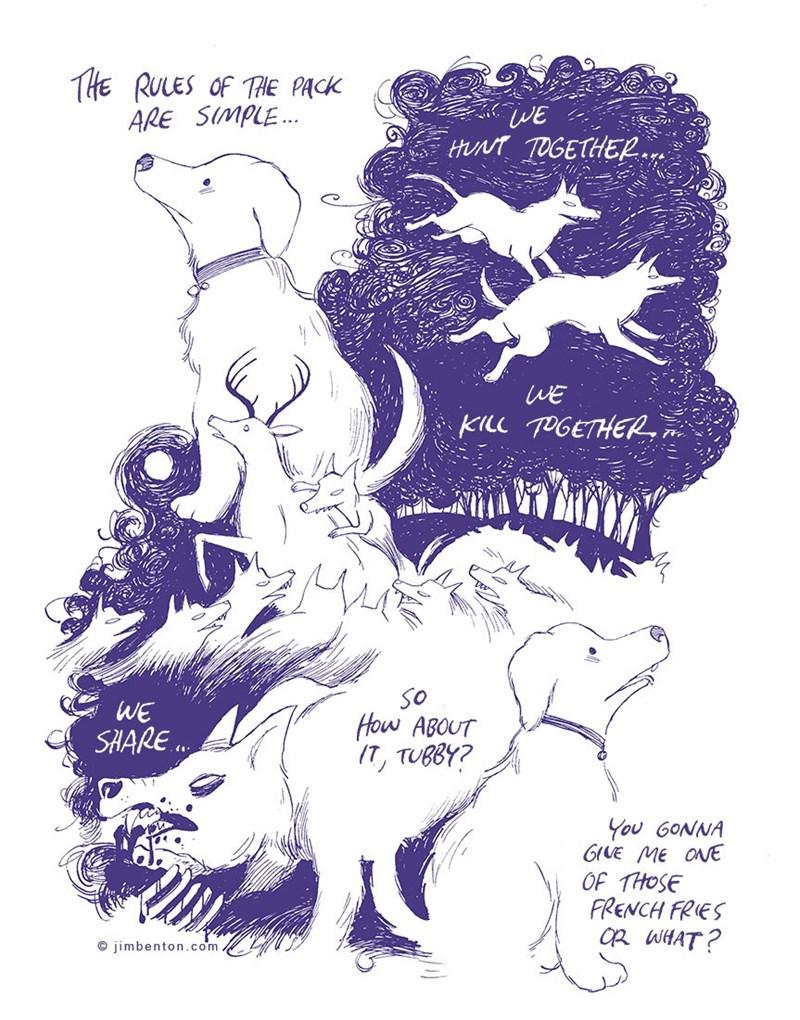 dogs art web comic - 8965261056