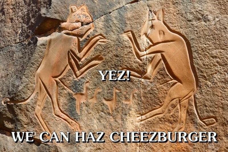 YEZ! WE CAN HAZ CHEEZBURGER