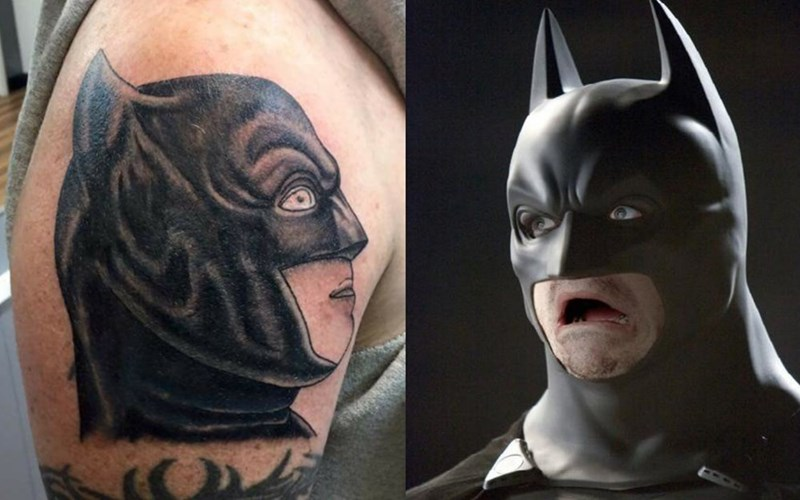 DC comics tattoo superheroes batman - 8965399040