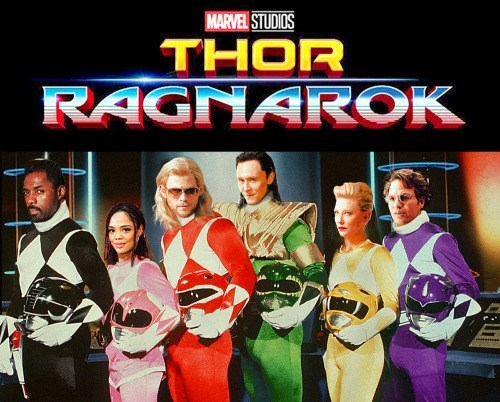 image marvel power rangers They're Really Taking This in a Different Direction