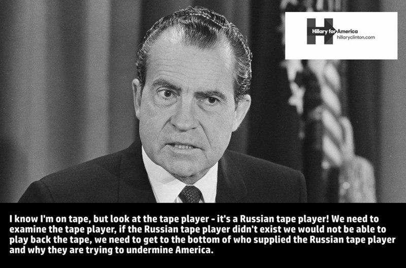 Richard Nixon,Hillary Clinton,Democrat