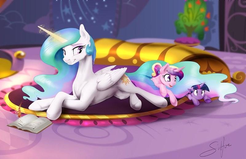 princess cadence twilight sparkle princess celestia - 8965747712