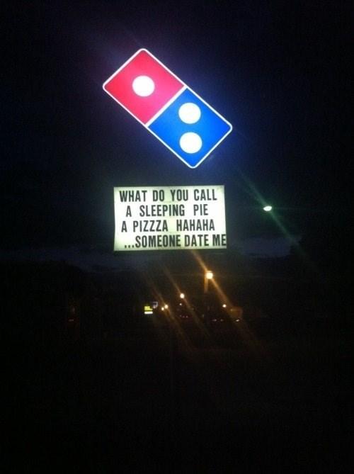 image pizza signs Pleazzza?