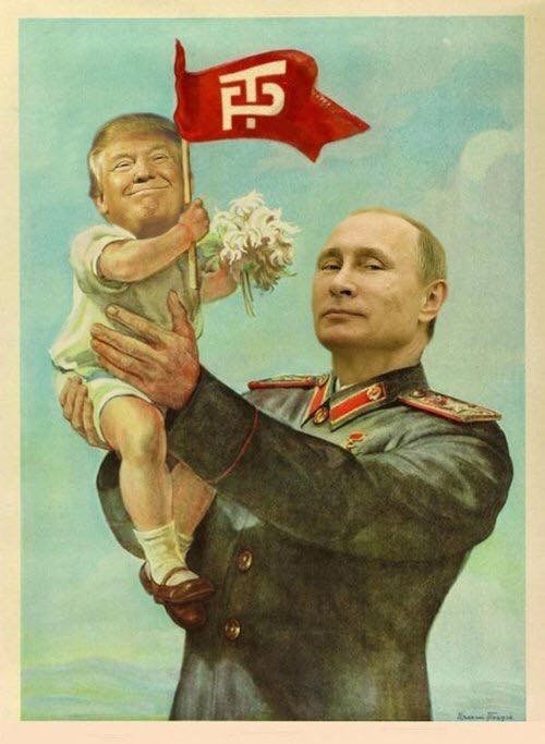 donald trump,republican,Putin