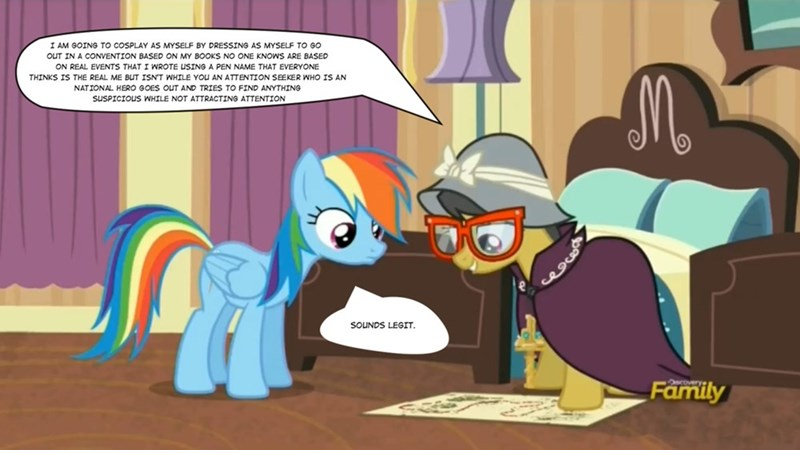 stranger than fan fiction,daring do,rainbow dash