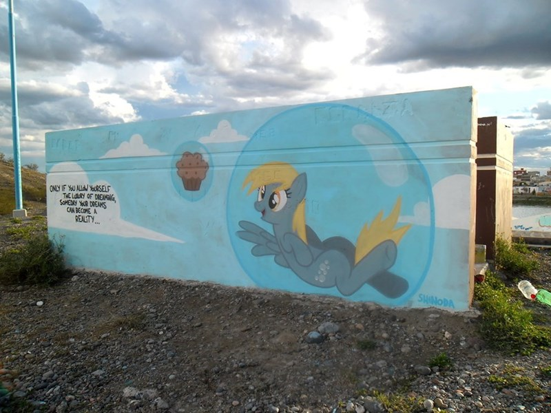 derpy hooves graffiti - 8966184448