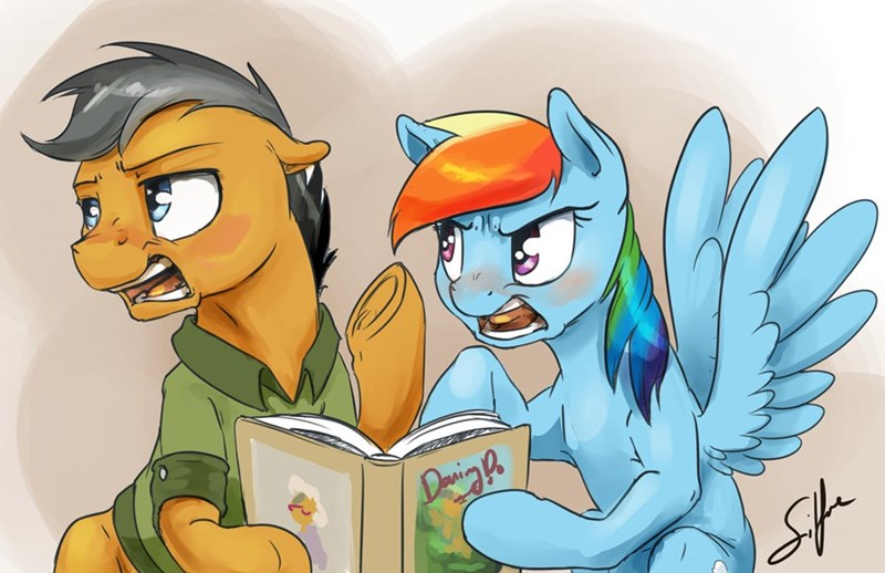 quibble pants stranger than fan fiction rainbow dash - 8966186240