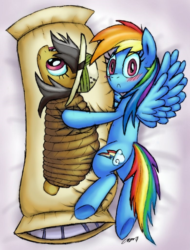 stranger than fan fiction daring do body pillow rainbow dash - 8966206464