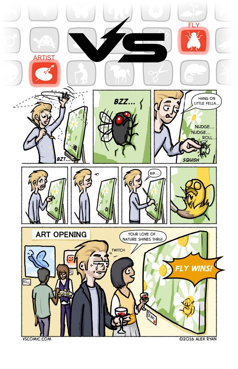 web-comic-about-the-artist-vs-the-fly