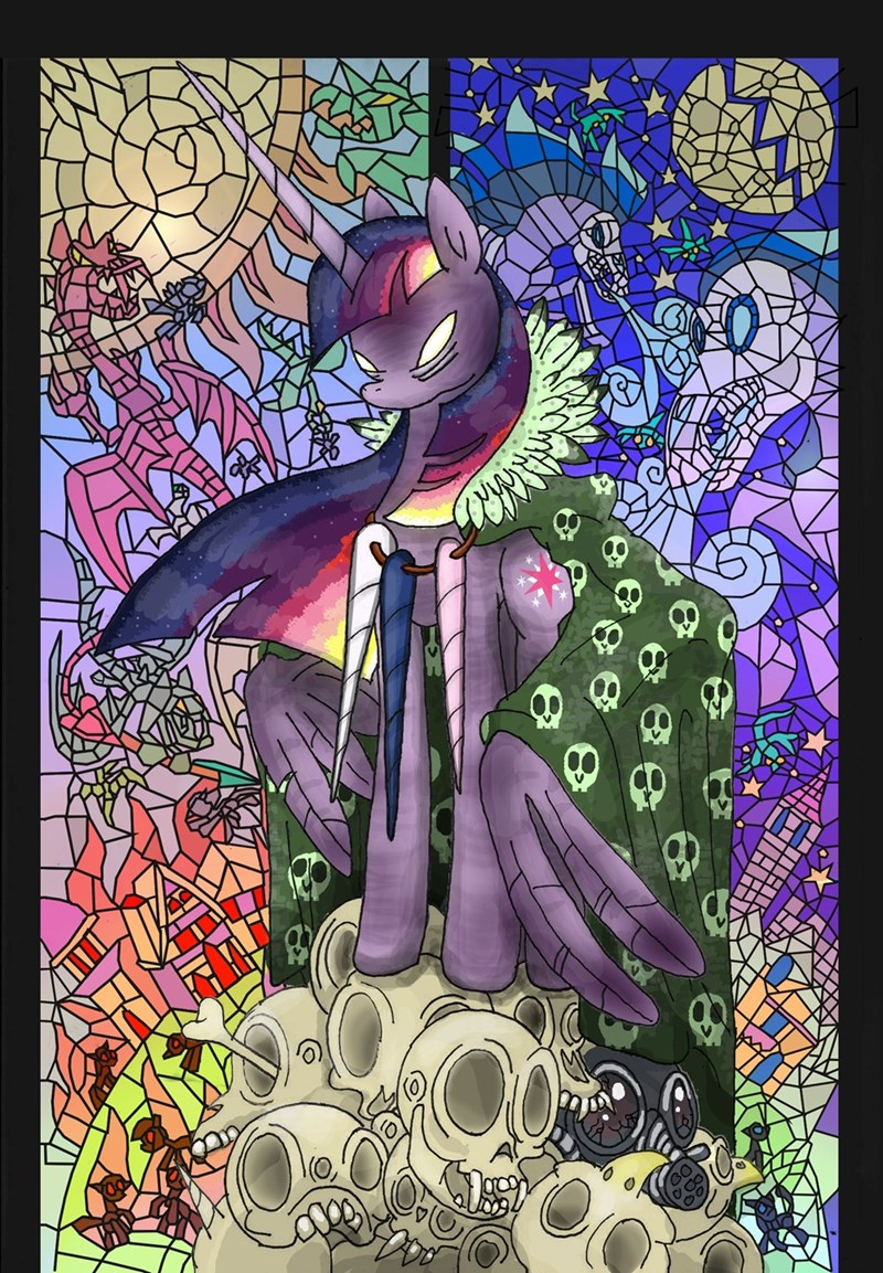princess cadence twilight sparkle dragons princess luna windigo princess celestia - 8966271744