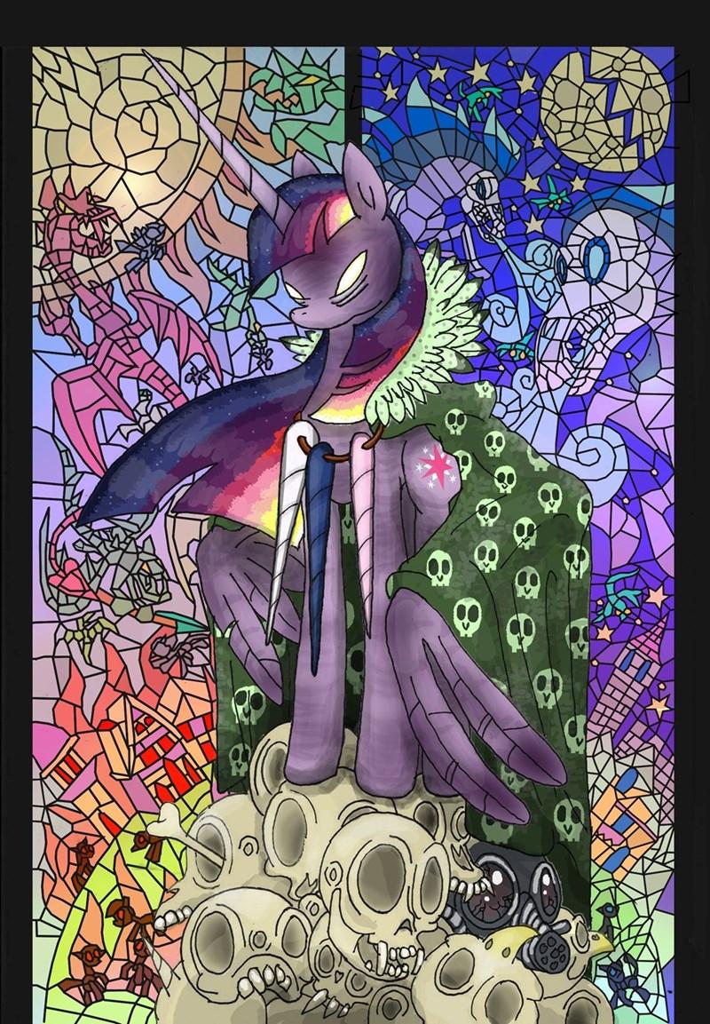 princess cadence twilight sparkle dragons princess luna windigo princess celestia - 8966271744