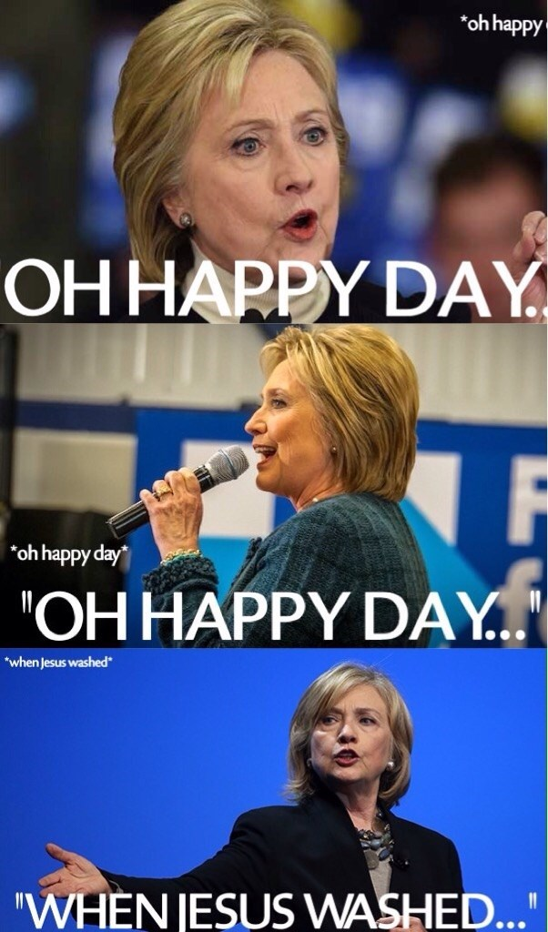 Hillary Clinton Democrat - 8966382848