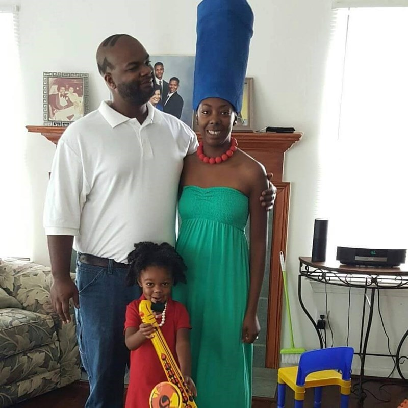 simpsons family cosplay irl