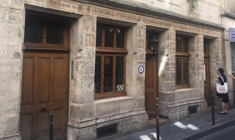 The oldest house in Paris (51 Rue de Montmorency) was the first home of Nicolas Flamel. Yes, the alchemist mentioned in the Harry Potter and the Philosopher's Stone. How quaint is that?