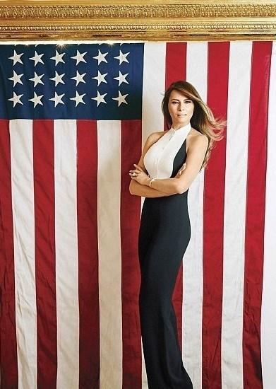 americana melania trump trump republican flag - 8966546176