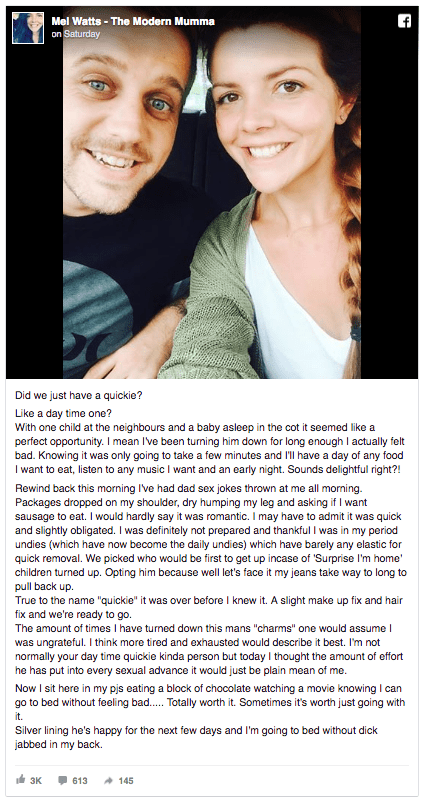 wife-writes-story-about-her-husband-asking-for-quickie-hilarious