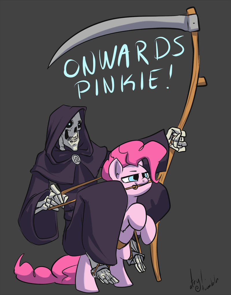 Death pinkie pie discworld - 8966601984