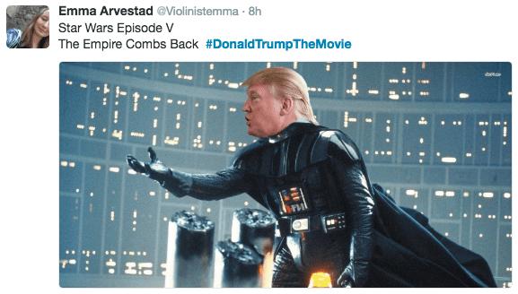 Fictional character - Emma Arvestad @Violinistemma 8h Star Wars Episode V The Empire Combs Back #DonaldTrumpThe Movie H
