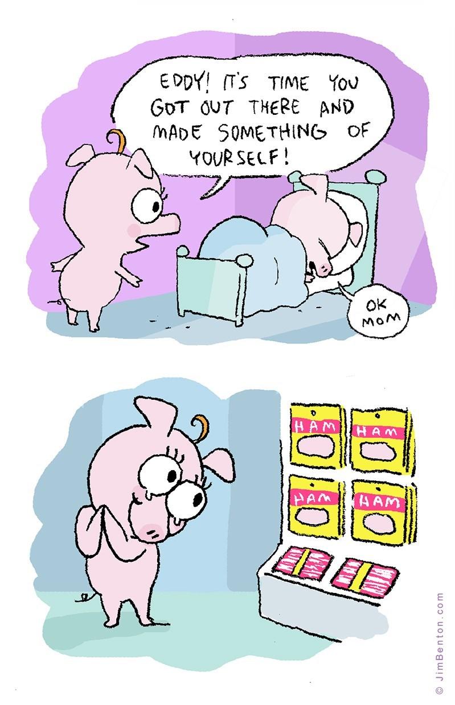web-comics-dark-humor-about-pig-entering-workforce-meets-ham