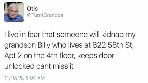 twitter Grandpa - 8966804992