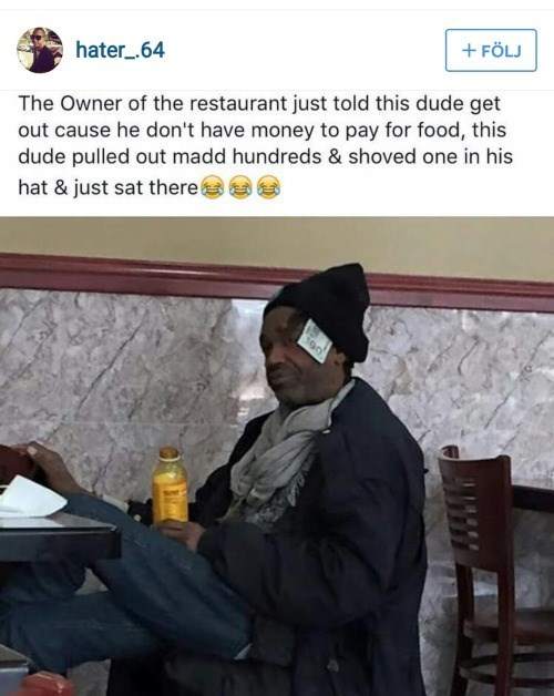 trolling instagram homeless - 8966805248