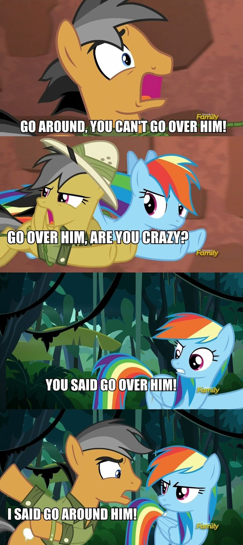 Indiana Jones quibble pants stranger than fan fiction daring do rainbow dash - 8966825984