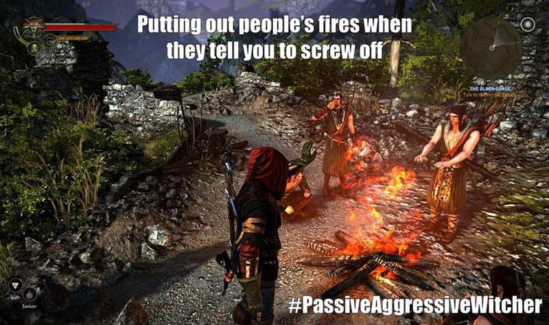 the-witcher-video-game-logic-trolling-peoples-fires
