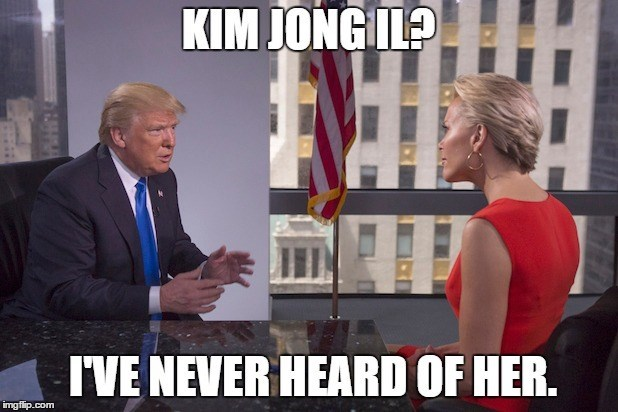 Photo caption - KIM JONGIL? IVE NEVER HEARD OF HER. imgflip.com