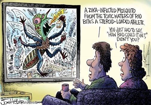 marvel zika olympics
