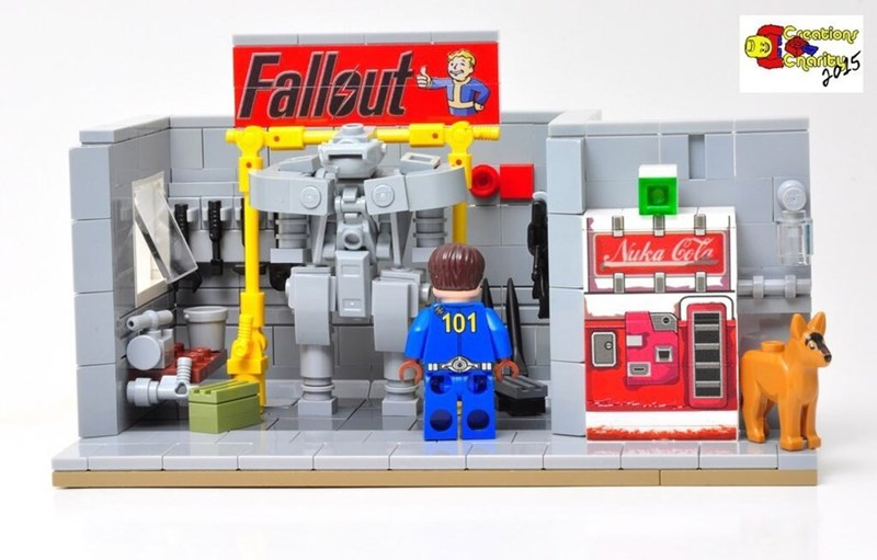 I Would Pay ALL the Caps for a Fallout Lego Set