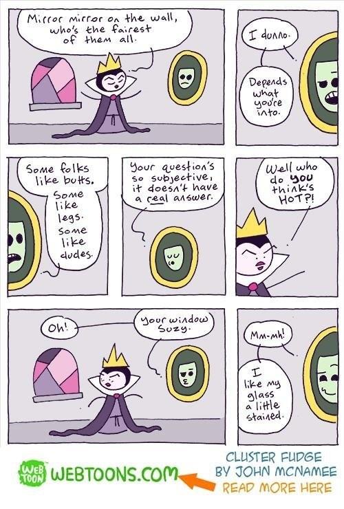 web comics snow white beauty Now She's Gonna Break the Window