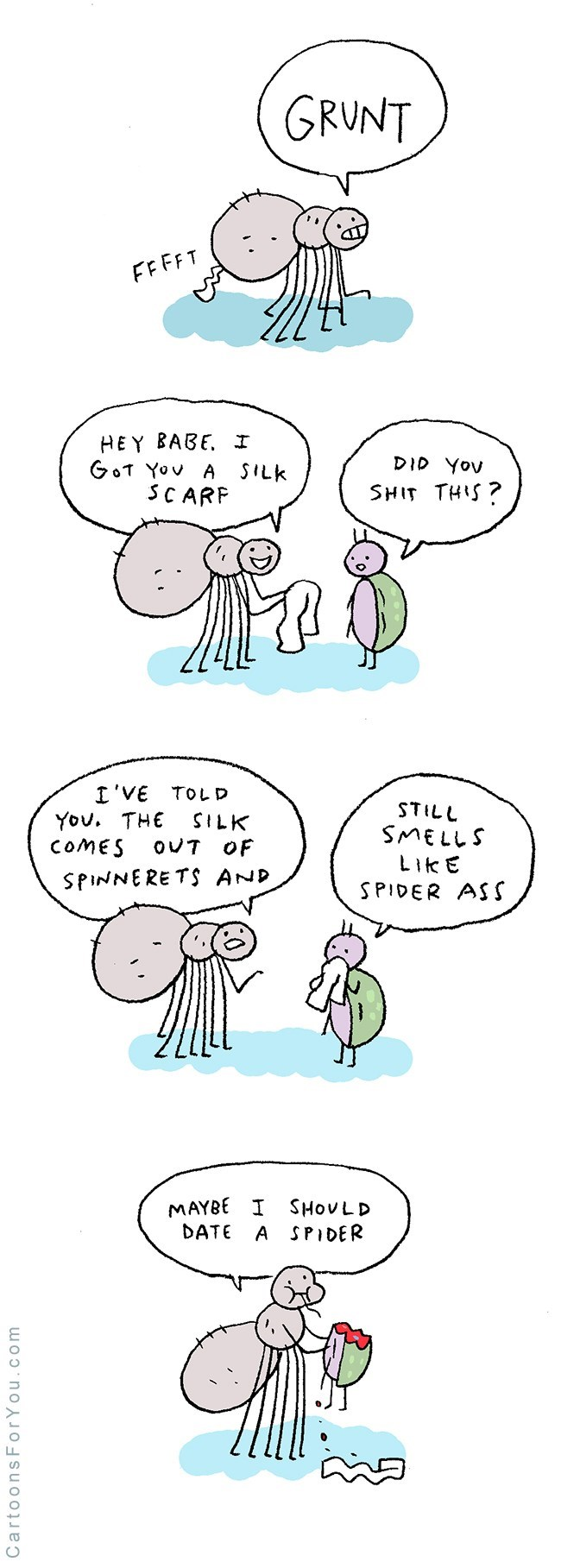 web comics love spiders It Wasn't Meant to Be