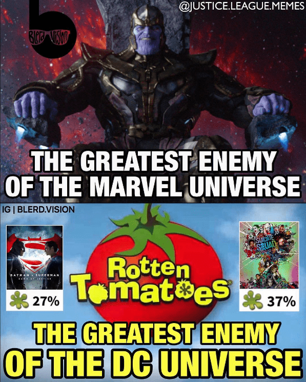 superheroes-movies-dc-vs-marvel-thanos-vs-rotten-tomatoes