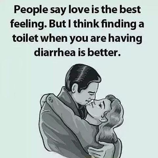 diarrhea toilet love