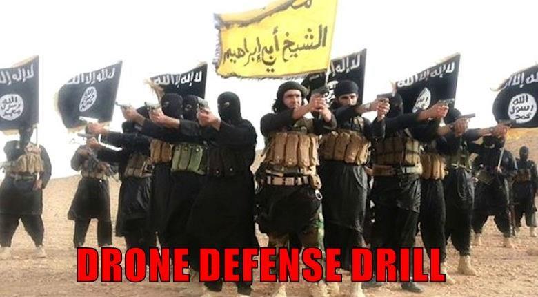 DRONE DEFENSE DRILL