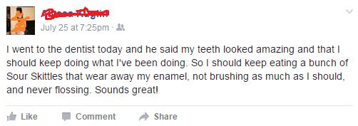 dentist failbook facebook - 8967753472
