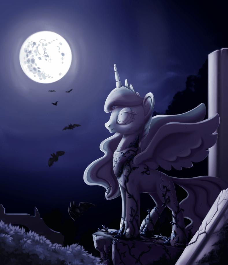 nightmare moon princess luna - 8967921152